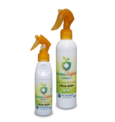 PetzLIfe Herbal Defence Spray - Myrkytön Punkkikarkote