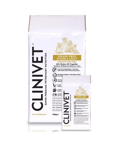 clinivet grain free chicken